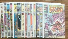 LOT OF 14 SERGIO ARAGONE'S GROO THE WANDERER (MARVEL,1986-1987) #12-22..COPPER=
