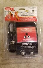 Power Wizard PW200, 110V Plug-In Electric Fence Charger