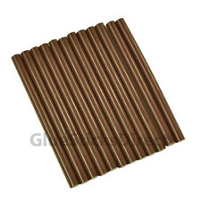 "GlueSticksDirect Brown Milk Chocolate Glue Stick mini X 4"" 12 sticks"