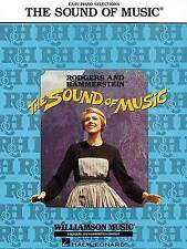 NEW The Sound of Music (Easy Piano Vocal Selections)