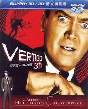 Vertigo (1959) 3D & 2D Blu-ray All Region New Sealed Alfred Hitchcock
