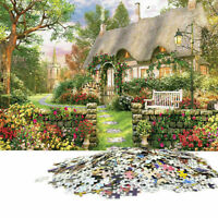 1000 Piece Jigsaw Puzzle England Cottage Landscapes Toys Educational Set