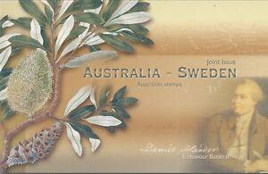 Australian Stamps: 2001 Australia/Sweden joint issue - Post Office Pack