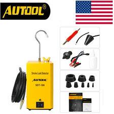New Autool SDT-106 Car Smoke Leak Detector Leakage Automotive Diagnostic Tool US