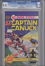 Captain Canuck #4 CGC 9.8 1979 Canadian Comely Comic
