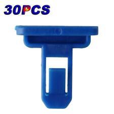 30PCS Blue Door Trim Panel Bumper Retainers Clips ABS Plastic For Toyota New