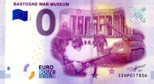 BELGIQUE Bastogne, War Museum, 2018, Billet 0 € Souvenir