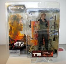 """MCFARLANE TOYS 2002 - MOVIE MANIACS SERIES 5 SARAH CONNOR FROM T2 - 6"""" FIG. NEW"""