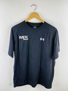 Under Armor MLX Skates Mens Vintage Short Sleeve T Shirt Size L Black Skateboard