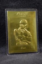 STAR TREK 22kt Gold Danbury Mint Card - Khan