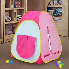 Kids Children Pop Up House Play Tent For Indoor-Outdoor Play Fun Pit Ball Game