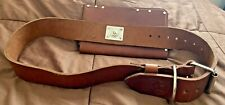 Fire Axe Inc Leather Scabbard And Belt Fire Fighting Equip Heavy Duty Forestry