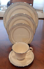 """LENOX """"CHARLESTON"""" PATTERN 5 PIECE PLACE SETTING (S) MADE IN USA"""