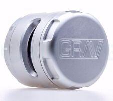 Grav Labs 4 piece Grinder for Herb / Tobacco - Silver