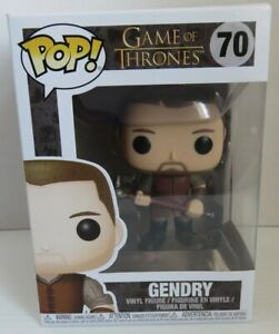 POP FIGURE #70 GAME OF THRONES GENDRY - BRAND NEW !         (INV23646)