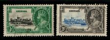 Grenada 1935 King George V Silver Jubilee ½d, 1d SG145-6 Used