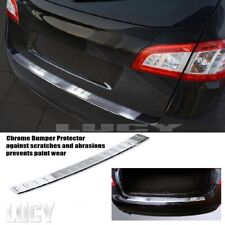 Chrome Protecteur Pare-Chocs pour Peugeot 508 BREAK de 2010 à 2014