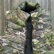 Under Armour Extreme Reversible Women's Hunting Down Vest Forest Large Camo