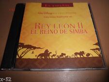 Disney LION KING 2 SPANISH cd Rey Leon II el reino de Simba TINA TURNER rare