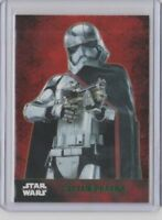 Star Wars The Force Awakens Series 1 Trading Card Green Captain Phasma #5
