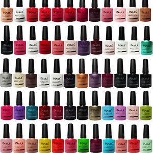 Miss Nails® SALON RANGE COLOUR UV LED Nail Gel Polish Soak Off TOP and BASE COAT