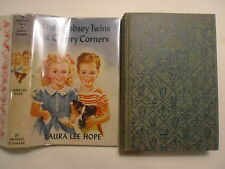 The Bobbsey Twins at Cherry Corners, Laura Lee Hope, DJ, 1950s