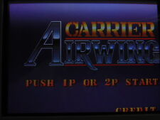 CARRIER AIR WING -- CAPCOM / BOOT-LEG / WORKING & CLEAN / ARCADE JAMMA PCB * 608