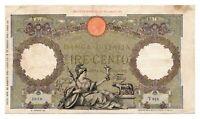 ITALY banknote 100 Lire 28.8.1942. VF
