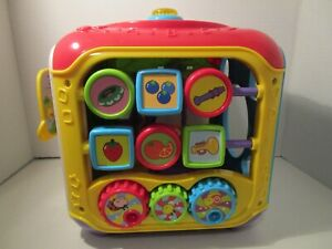 Vtech Activity Cube Sort & Discover Baby Toddler Interactive Learning Toy Lights