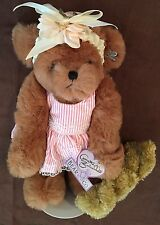 """Annette Funicello Bear Annie Limited Edition Rare Jointed 12.5"""" Dressed Retired"""