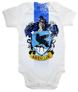 "Harry Potter Baby Bodysuit ""Ravenclaw House Crest"" Baby grow Vest Hogwarts"