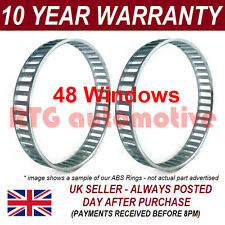 2X FOR BMW 1 SERIES E81 E82 E87 E88 48 WINDOW 79MM ABS RELUCTOR RING CV AR0607