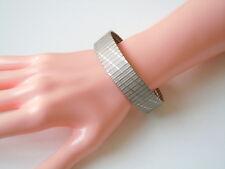 Altes Armband aus 835 Silber m. Sicherheitsbügel 25,5 g/Länge 20 cm/Breite1,6 cm