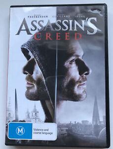 Assassin's Creed - Region 4 DVD - Michael Fassbender, Marion Cotillard