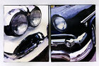 Vintage Classic Cars 50's Canvas Art Black & White Tail Fins Two Tones Man Cave