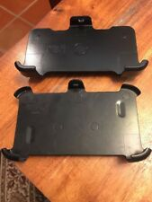 2 OTTERBOX Defender (7111a & 6930a) Black Cellphone Clip Only (CT)
