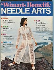 Woman's Homelife Needle Arts September 1972 VG 050117nonjhe