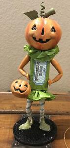 Bethany Lowe Halloween Peter Pumpkin Roll—Retired