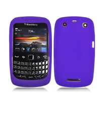 Purple Silicone Skin Case Cover for Blackberry Curve 9370/9360