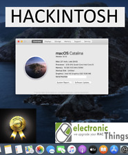 macOS Catalina Hackintosh intel I5 6500 16GB DDR4 ,240GB NVMe SSD Logic ProX