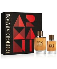 Acqua Di Gio Absolu 2.5 oz / 75 ml Parfum and 1.oz Parfum Travel Gift Set