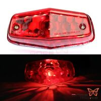 Red Tail Light Taillight for Lucas Type 564 Triumph BSA Norton Matchless Motor