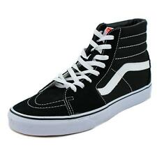 8851424428 VANS Sk8 Hi Classic Mens Trainers Black White Shoes 10 UK