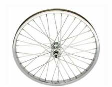 "Lowrider Dragster Bicycle 20"" 36 CrossLace 3SPD Rear & Front Wheel WhiteWall Set"