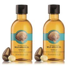 The Body Shop Wild Argan Oil Shower Gel,250 ml (pack of 2) free shipping world