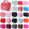 Women Beauty Makeup Case Travel Wash Toiletry Bag Organizer Storage Cosmetic Box