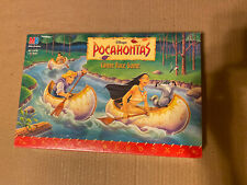 1994 Milton Bradley Disney Pocahontas Canoe Race Game Complete