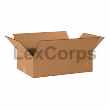 25 Qty 20x12x6 SHIPPING BOXES LC Mailing Moving Cardboard Storage Packing
