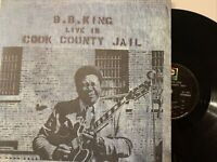 B.B. King – Live In Cook County Jail LP 1970 ABC Records – ABCS-723 VG/VG