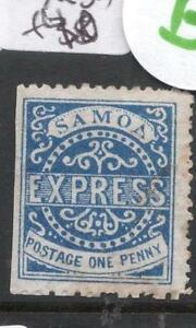 Samoa SG 15 Some Toning MOG (7dgs)